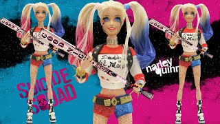 """Play Doh Barbie """"Harley Quinn"""" """" Suicide Squad"""" Inspired Costume"""