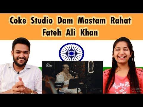 Indian Reaction on Pakistan Coke Studio   Dam Mastam Song   Rahat Fateh Ali Khan   Swaggy d