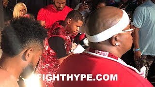 DEVIN HANEY RING WALK WITH E-40; STUNTIN AND SHININ IN SHOWTIME DEBUT WIN OVER MENARD
