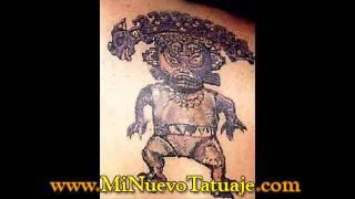 Tatuajes Tribales en el hombro y pie
