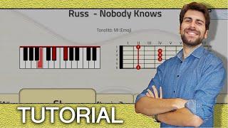 TUTORIAL! Russ    Nobody Knows (Piano & Guitar   Chords )