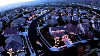 Christmas light display spans 16 houses