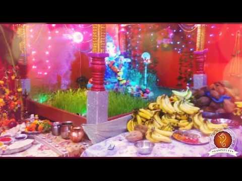 Suresh Shinde Home Ganpati Decoration Video