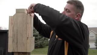 FastenMaster PROStar PROTips Brendan Casey – Cutting and Detailing Deck Support Posts