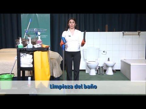 Prevención de TME:  Limpieza del Baño