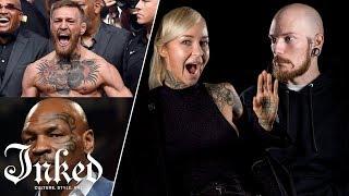 Tattoo Artists React To Athlete Tattoos   Tattoo Artists Answer