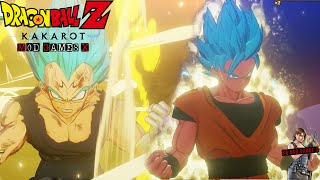 Dragon Ball Z Kakarot MOD - Goku and Vegeta SSJ GOD BLUE