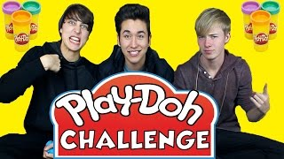 PLAY DOH CHALLENGE Feat. Sam and Colby   Brennen Taylor