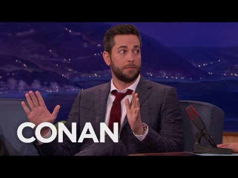 Zachary Levi Missed His Last CONAN Appearance Mp3
