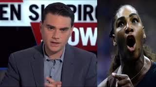 Ben Shapiro reacts to people blaming Serena Willam's U.S. OPEN loss on RACISM!