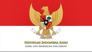 National anthem of Indonesia (ID/EN lyrics)