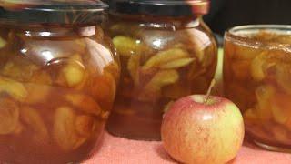 Варенье из яблок прозрачное
