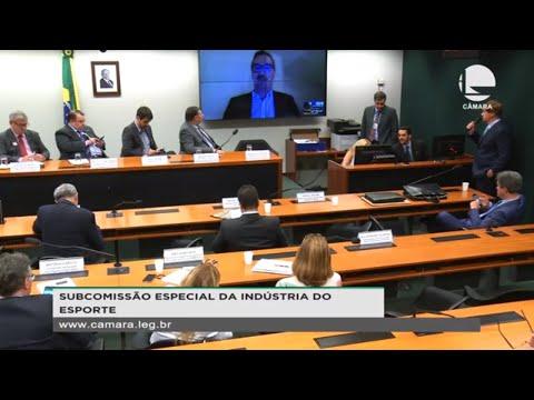 Subcomissão Indústria do Esporte - Inovação nos serviços e produtos esportivos - 28/11/20 - 14:24