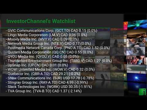 InvestorChannel's Media Watchlist Update for Thursday, Jul ... Thumbnail