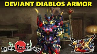Monster Hunter XX: Deviant Malfestio Armor Overview (Blademaster