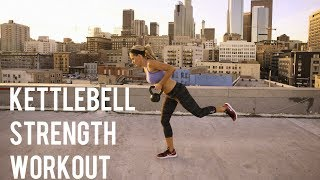 30 Minute Kettlebell Strength Workout by BodyFit By Amy