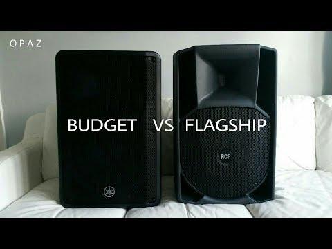 Yamaha DBR15 Budget vs Flagship RCF 745A - Thủ thuật máy