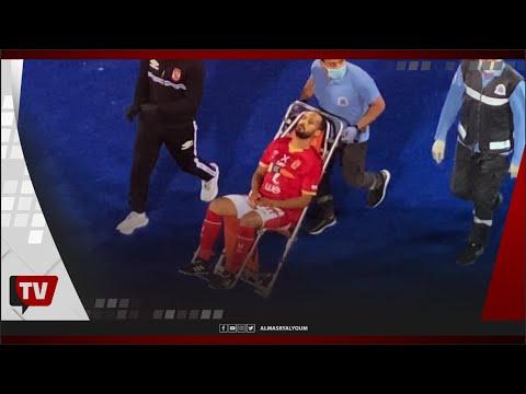 كواليس الإصابة الخطيرة التي تعرض لها وليد سليمان ونقله للمستشفى أثناء مباراة الحرس الوطني
