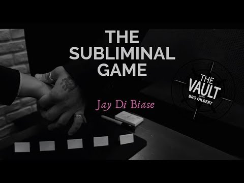 The Subliminal Game by Jay Di Biase
