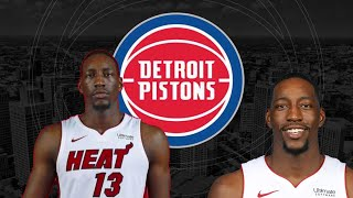 The Heat May Not Resign Bam Adebayo The Detroit Pistons Should Hop All Over This!!