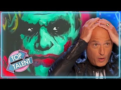 AMAZING ART ACTS on Got Talent | Top Talent (видео)