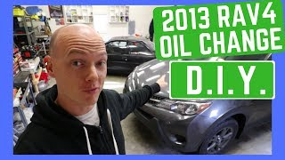 How to change 2013-2018 RAV4 oil and filter - Detailed DIY - 2.5L Gasoline