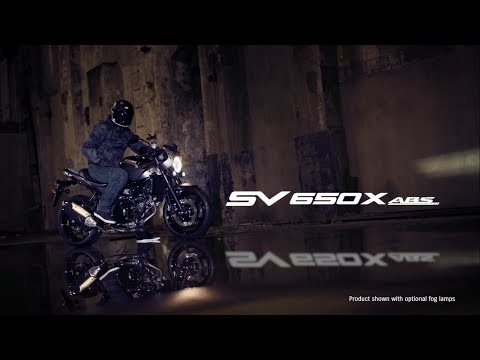 SV650X  ABS official promotional movie