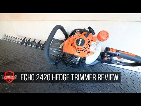 ECHO 2420 Hedge Trimmer Review – What Are My Thoughts On It?