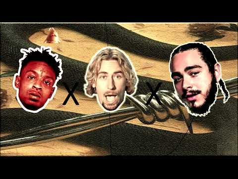 Post Malone - rockstar (feat. 21 Savage & Nickelback) (MASHUP/REMIX)