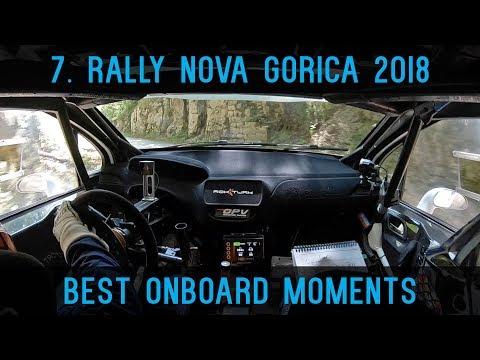 7. rally Nova Gorica 2018   Best onboard moments   Rok Turk - Blanka Kacin (Peugeot 208 T16)