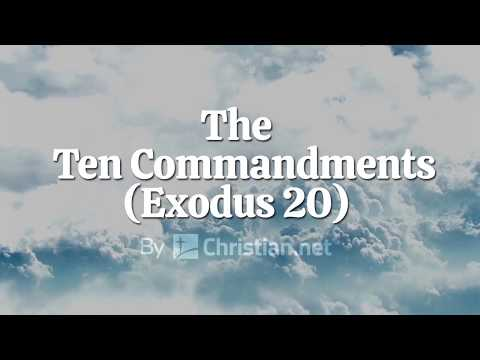 Exodus 20: The Ten Commandments | Bible Story (2020)