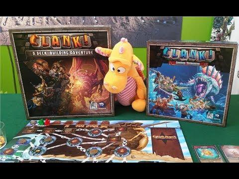 Clank! (+Sunken treasures) - Gameplay Runthrough