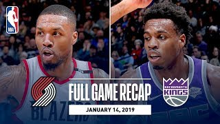 Full Game Recap: Trail Blazers vs Kings | Buddy Hield Leads The Way With Efficient Night
