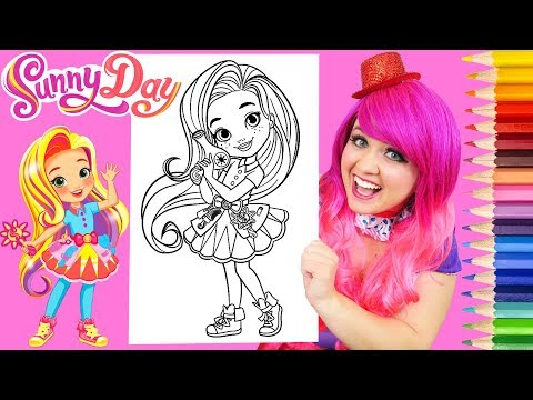 Download Coloring Sunny Day Hairstylist Coloring Book Page Prismacolor Colored Pencils | KiMMi THE CLOWN Mp4 HD Video and MP3