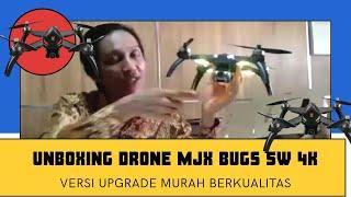 UNBOXING DRONE MJX BUGS 5W VERSI UPGRADE 4K. MURAH DAN BERKUALITAS!!!!