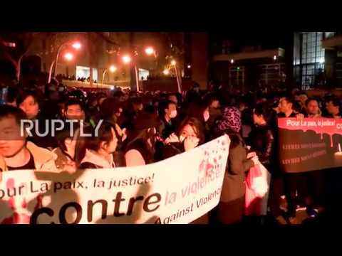 LIVE: Protests against police violence reignited in Paris after Chinese man killed