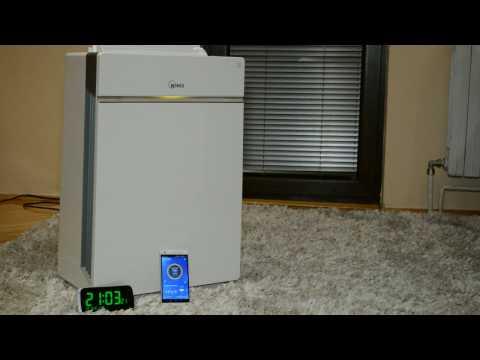 Winix HR1000 living room test