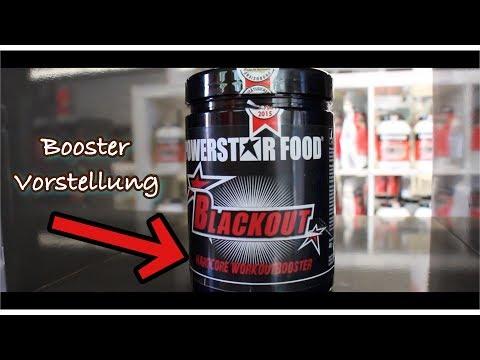 Der wahrscheinlich stärkste Pre-Workout Booster! BLACKOUT