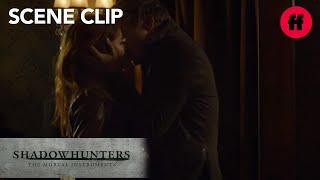 Shadowhunters | Season 2, Episode 17: Sebastian Gives Clary a Kiss | Freeform