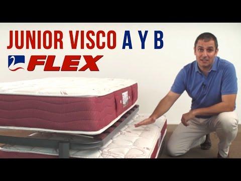 Colchón Flex Junior Visco A - Colchoneta Junior B de Flex (Colchones.es)