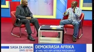 Siasa za Kanda:Demokrasia Afrika,Je hali iko vipi Afrika Mashariki?