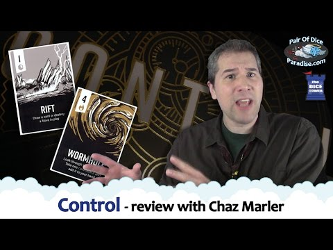 Control - review with Chaz Marler (Pair Of Dice Paradise)