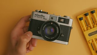 Fix Your Old Film Camera At Home!