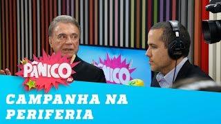 """Alvaro Dias: """"na periferia é onde eu me sinto melhor"""""""