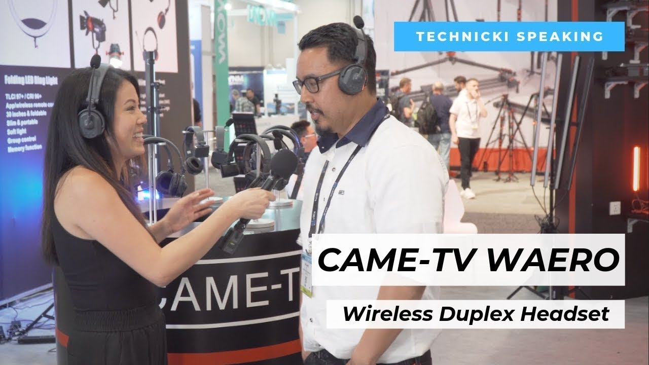 CAME-TV WAERO Duplex Digital Wireless Headset, 4-pack + Case