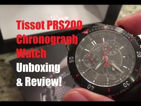 Unboxing and Review: $279 Tissot PRS 200 Chronograph Watch