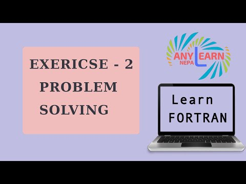 Learn Fortran Problem Solving 2   Fortran Tutorial 10