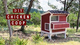 DIY Backyard Chicken Coop | How To Build - Part 1