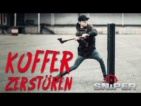 Waffenkoffer mit AXT zerstören?!? Extremtest Nuprol, VFC, Fosco | Sniper-as.de