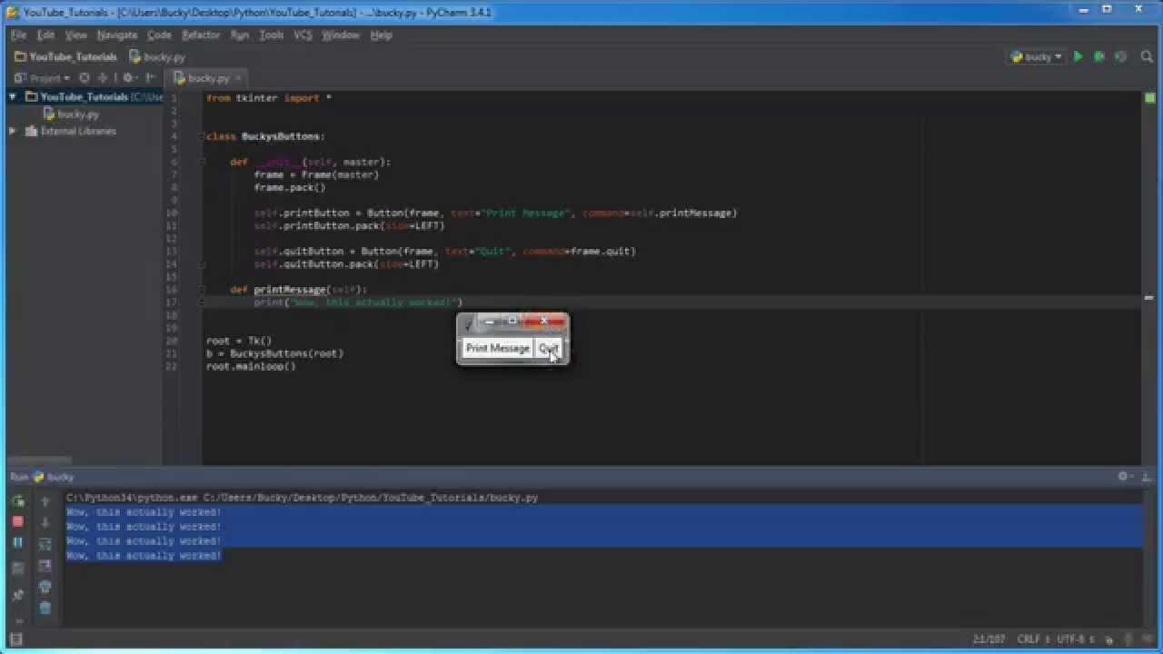 Python GUI with Tkinter Playlist | Grroups
